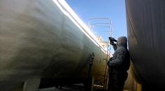 Утеплення цистерн для зберігання КАС  Одеська область
